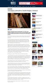 0107 - vesti-online.com - Vremeplov izdavastva- Srpske knjige u Veneciji