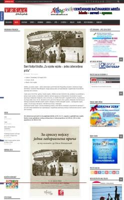 0208 - vrsaconline.com - Dani Italije-Izlozba Za srpsku vojsku - jedna zaboravljena prica