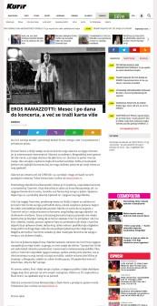 1908 - kurir.rs - EROS RAMAZZOTTI- Mesec i po dana do koncerta