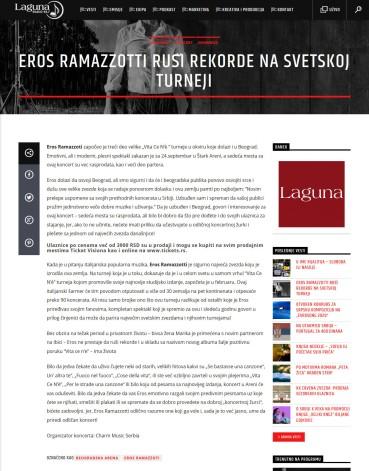 0209 - radiolaguna.rs - EROS RAMAZZOTTI RUSSI REKORDE NA SVETSKOJ TURNEJI