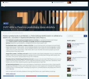 0310 - gle.co.rs - JAZZ stize u Pancevo poslednjeg dana oktobra