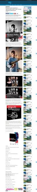 0310 - portalmladi.com - Milanski kvartet saksofona i saksofonista Gordan Tudor otvaraju Belgrade SAXperience