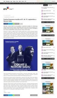 0409 - rtv.rs - Festival kamerne muzike od 9. do 15. septembra u Novom Sadu