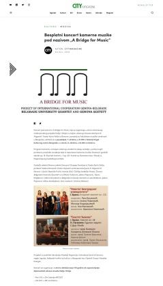 0410 - citymagazine.rs - Besplatni koncert kamerne muzike pod nazivom A Bridge for Music