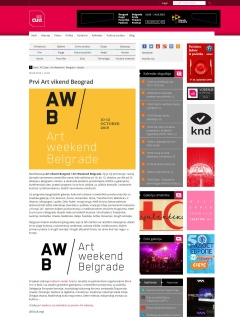0509 - seecult.org - Prvi Art vikend Beograd
