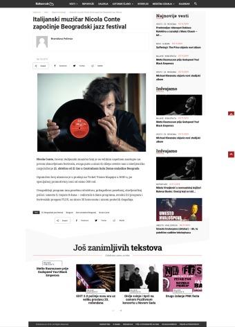 0610 - balkanrock.com - Italijanski muzicar Nicola Conte zapocinje Beogradski jazz festival