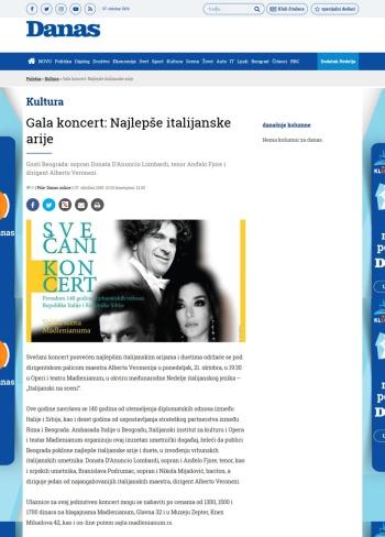 0710 - danas.rs - Gala koncert- Najlepse italijanske arije