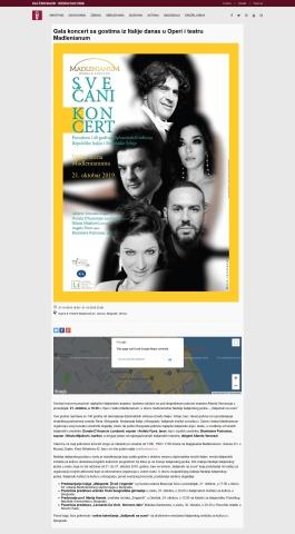 0810 - aska.rs - Gala koncert sa gostima iz Italije danas u Operi i teatru Madlenianum