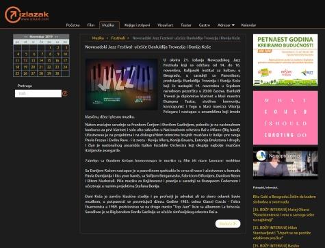 0811 - izlazak.com - Novosadski Jazz Festival