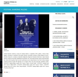 0909 - kultura.novisad.rs - FESTIVAL KAMERNE MUZIKE