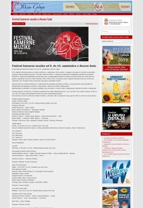 0909 - mojsrbija.rs - Festival kamerne muzike od 9. do 15. septembra u Novom Sadu