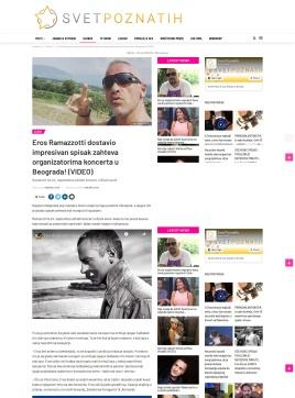 0909 - svetpoznatih.rs - Eros Ramazzotti dostavio impresivan spisak zahteva organizatorima koncerta u Beograda
