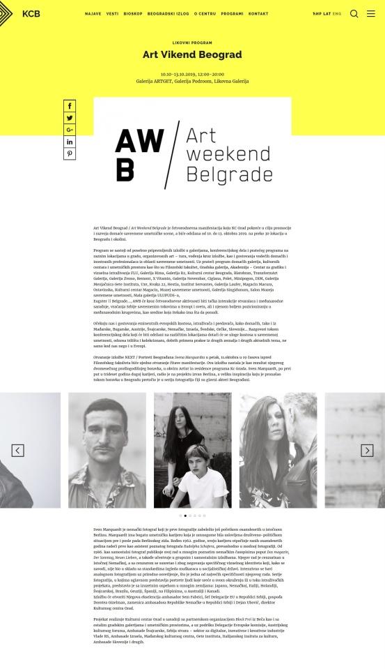 0910 - kcb.org.rs - Art Vikend Beograd