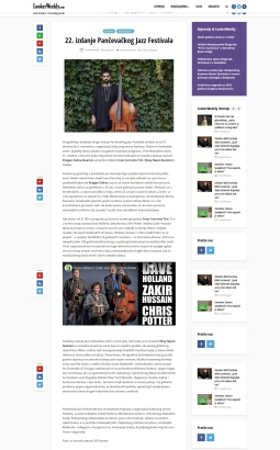 0910 - lookerweekly.com - 22. izdanje Pancevackog Jazz Festivala