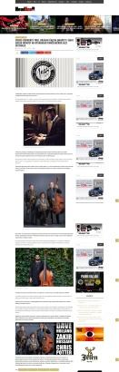 1110 - headliner.rs - Cross Currents Trio, Dragan Calina Quartet i Shay Hazan Quintet na otvaranju Pancevackog Jazz Festivala