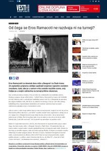 1309 - vesti-online.com - Od cega se Eros Ramacoti ne razdvaja ni na turneji