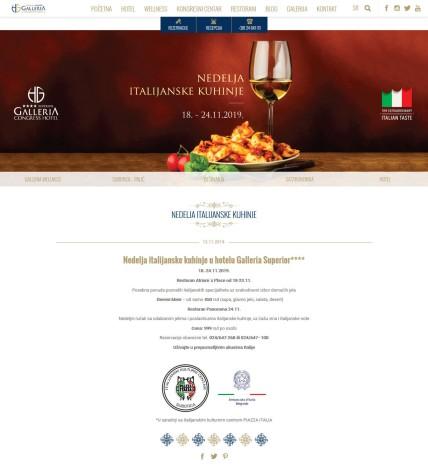 1311 - galleria-center.com - Nedelja italijanske kuhinje Hotel Galleria Subotica