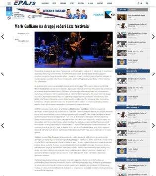 1510 - epancevo.rs - Mark Gulliano na drugoj veceri Jazz festivala