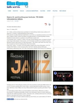1510 - glasopova.rs - Najava 22. pancevackog jazz festivala