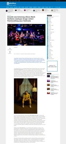 1710 - mediasfera.rs - Zvezda savremenog dzeza Mark Guiliana nastupa druge veceri Pancevackog jazz festivala