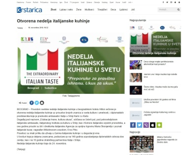 1811 - krstarica.com - Otvorena nedelja italijanske kuhinje