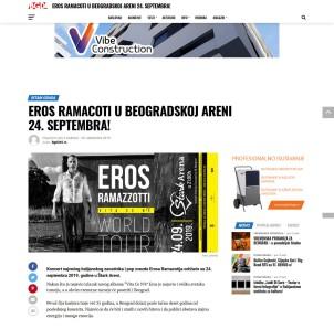 2009 - bgd365.rs - EROS RAMACOTI U BEOGRADSKOJ ARENI 24. SEPTEMBRA