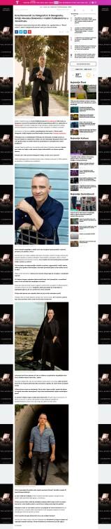 2009 - telegraf.rs - Eros Ramacoti za Telegraf.rs- O Beogradu, Srbiji, Novaku Djokovicu i nasim fudbalerima u Juventusu