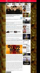 2110 - idjtv.com - 8 DZEZ SVETKOVINE u Beogradu - Pocinje 35. Beogradski dzez festival
