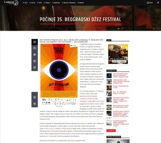 2110 - radiolaguna.rs - Pocinje 35. Beogradski dzez festival
