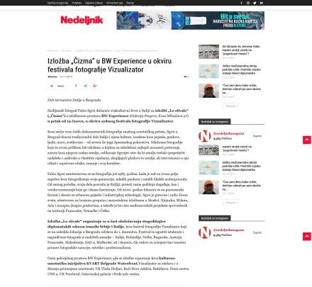 2111 - nedeljnik.rs - Izlozba Cizma u BW Experience u okviru festivala fotografije Vizualizator