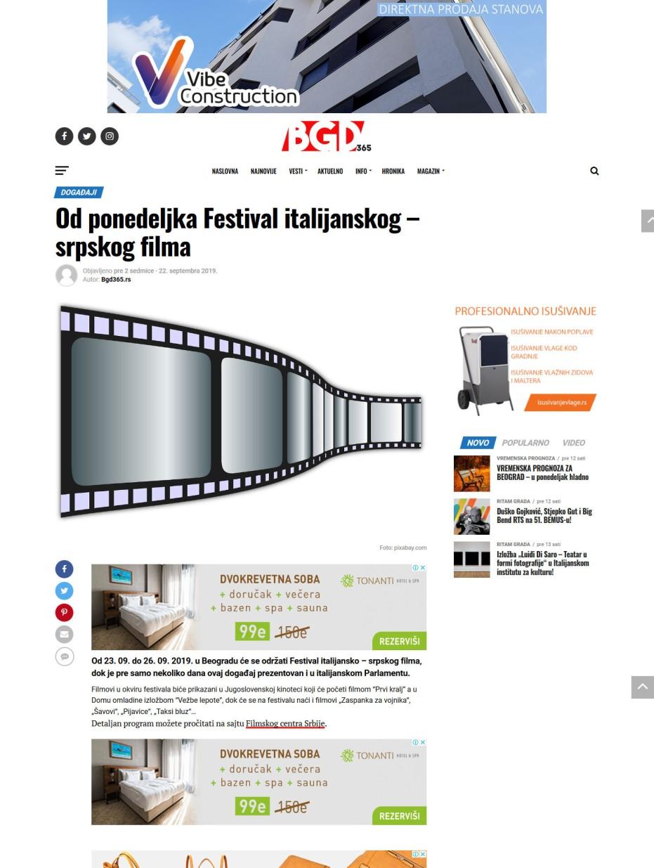 2209 - bgd365.rs - Od ponedeljka Festival italijanskog