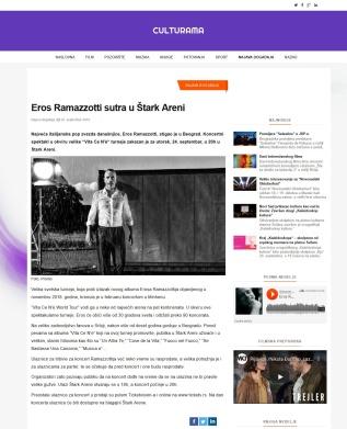 2309 - culturama.rs - Eros Ramazzotti sutra u Stark Areni
