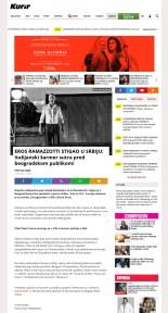2309 - kurir.rs - EROS RAMAZZOTTI STIGAO U SRBIJU- Italijanski sarmer sutra pred beogradskom publikom
