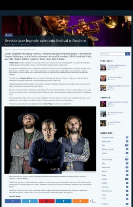 2310 - gle.co.rs - Svetske jazz legende zatvaraju festival u Pancevu