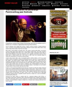 2310 - k-013.com - Charles Tolliver Quintet, Paolo Fresu Trio i MING Kvartet na zatvaranju Pancevackog jazz festivala