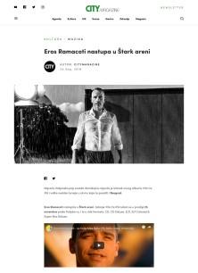 2409 - citymagazine.rs - Eros Ramacoti nastupa u Stark areni