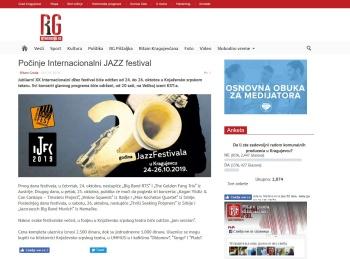 2410 - ritamgrada.rs - Pocinje Internacionalni JAZZ festival