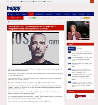 2509 - static.happytv.tv - EROS RAMACOTI ODRZAO KONCERT ZA PAMCENJE- Beogradjani odlepili za italijanskom zvezdom