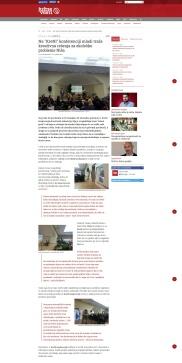 2811 - juznevesti.com - Na KreNI konferenciji mladi traze kreativna resenja za ekoloske probleme Nisa