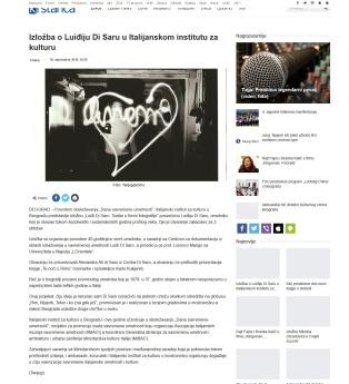 3009 - krstarica.com - Izlozba o Luidjiju Di Saru u Italijanskom institutu za kulturu