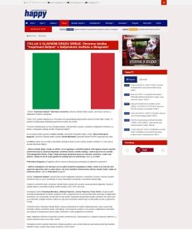 3010 - happytv.tv - ITALIJA U GLAVNOM GRADU SRBIJE