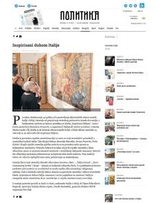 3010 - politika.rs - Inspirisani duhom Italije