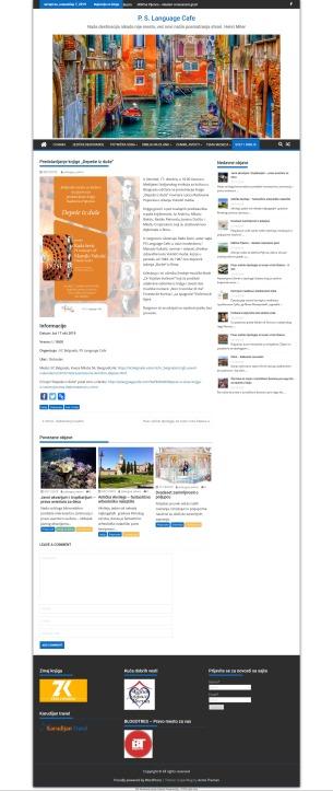 0810 - pslanguagecafe.com - Predstavljanje knjige Depese iz duse