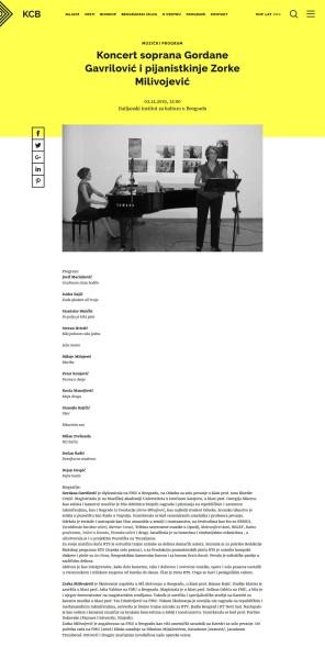 0212 - kcb.org.rs - Koncert soprana Gordane Gavrilovic i pijanistkinje Zorke Milivojevic