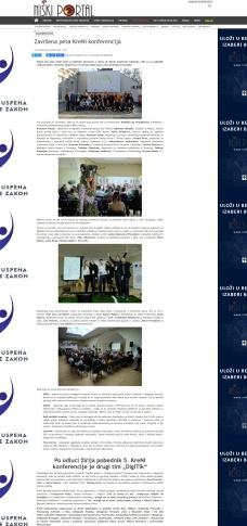 0312 - niskiportal.rs - Zavrsena peta KreNI konferencija