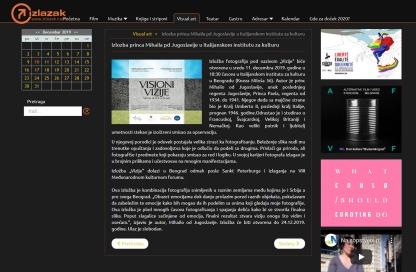 0912 - izlazak.com - Izlozba princa Mihaila pd Jugoslavije u Italijanskom institutu za kulturu