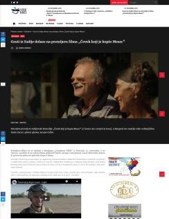 2011 - filmeske-radosti.rs - Gosti iz Italije dolaze na premijeru filma Covek koji je kupio Mesec