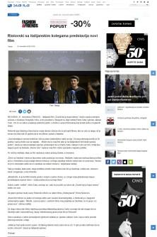 2111 - krstarica.com - Ristovski sa italijanskim kolegama predstavlja novi film
