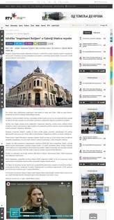 0503 - rtv.rs - Izlozba Inspirisani Italijom u Galeriji Matice srpske