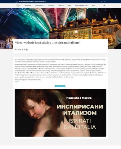 0603 - novisad.travel - Video-vodjenje kroz izlozbu Inspirisani Italijom